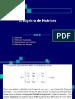 Algebra de Matrices Godofredo