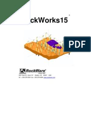 RoksWorks15 Manual | Installation (Computer Programs) | 2 D