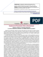 Cuadernos del Pensamiento Crítico Latinoamericano Nº 05 Ideología y reivindicaciones