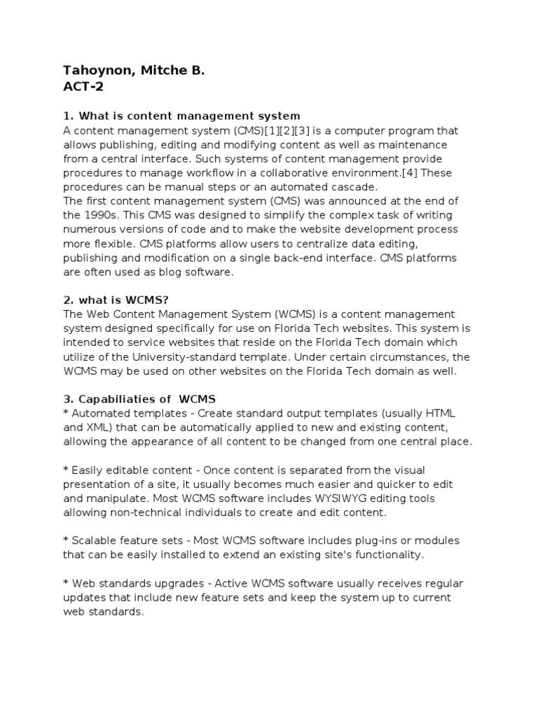 content management system , Web Content Management System