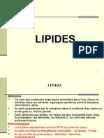 SA 3 Lipides