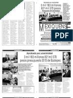 Versión impresa del periódico El mexiquense 14 febrero 2013
