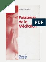 Puissance de La Meditation-Joseph Murphy