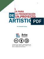 Guía básica para la presentación de un proyecto artístico.pdf