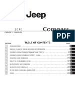 Manual Propietario Jeep Compass 2010