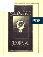 American Kenpo Yellow Belt Journal