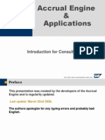 FI Accrual Engine by Sap