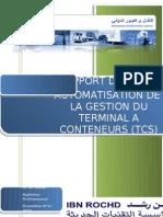 Automatisation de La Gestion Du Terminal a Conteneurs (Tcs)