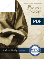 SES Online School Catalog 2012-2013