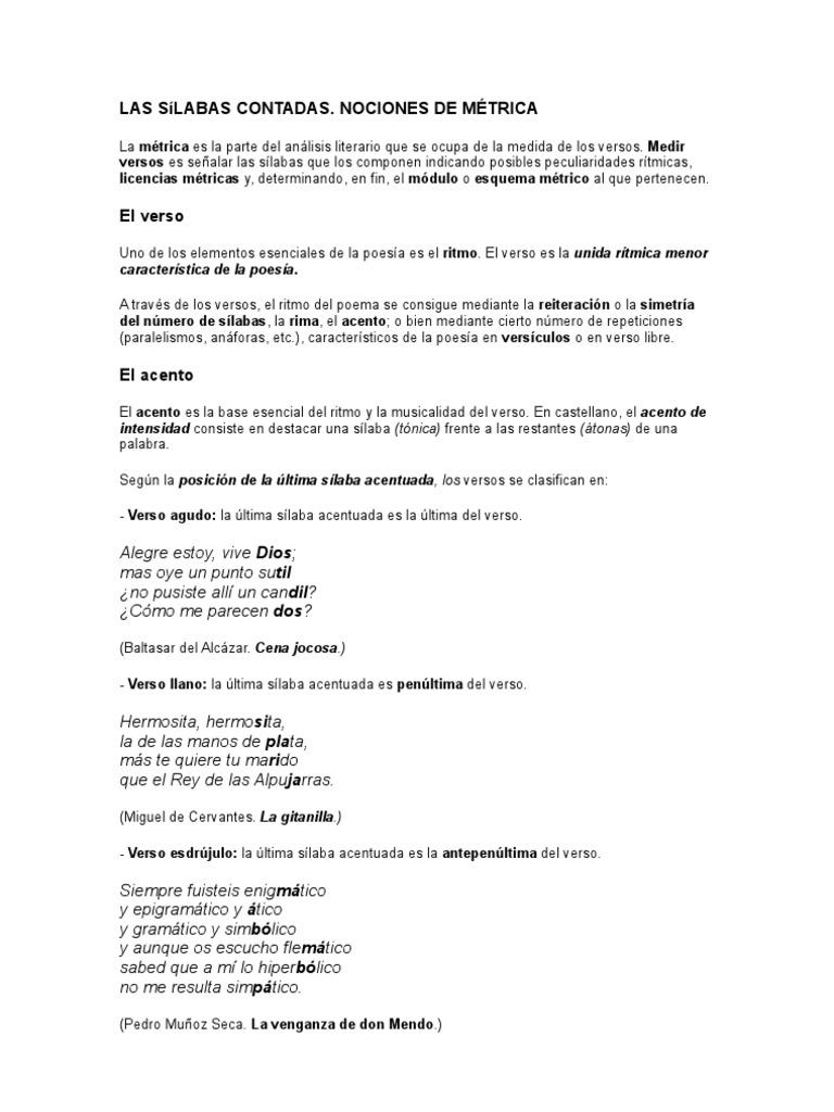 34 Guia De Completa 7018038 Paginas Y Recursos Estilisticos Metrica tdhQrs