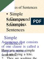 3 Types of Sentences w Exercise