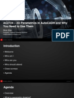presentation_2724_AC2724 - 2D Parametrics in AutoCAD® and Why You Need to Use Them
