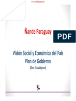 PLAN DE GOBIERNO - HORACIO CARTES - PARAGUAY - PORTALGUARANI