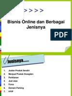 Bisnis Online for Beginner