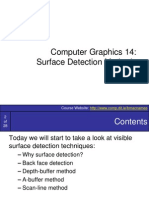 SurfaceDetection Methods