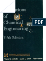 Unit Operations of Chemical Engineering