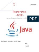 Spring MVC Exception Handling +POA +AJAX