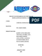 PROYECTO DE DESARROLLO DE CIRCUITOS DE MODULACIÓN ELECTRÓNICA Y RF