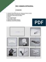 Especificaciones Tecnicas Camara Intraoral