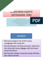 Kemahiran Asertif (Ketegasan Diri)