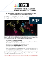 Deezer Global Press Release - FINAL