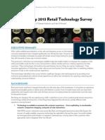 Control Group 2013 Retail Technology Survey