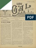 Lou Gal - N°17 du 5 Mars 1916 (2ème année)
