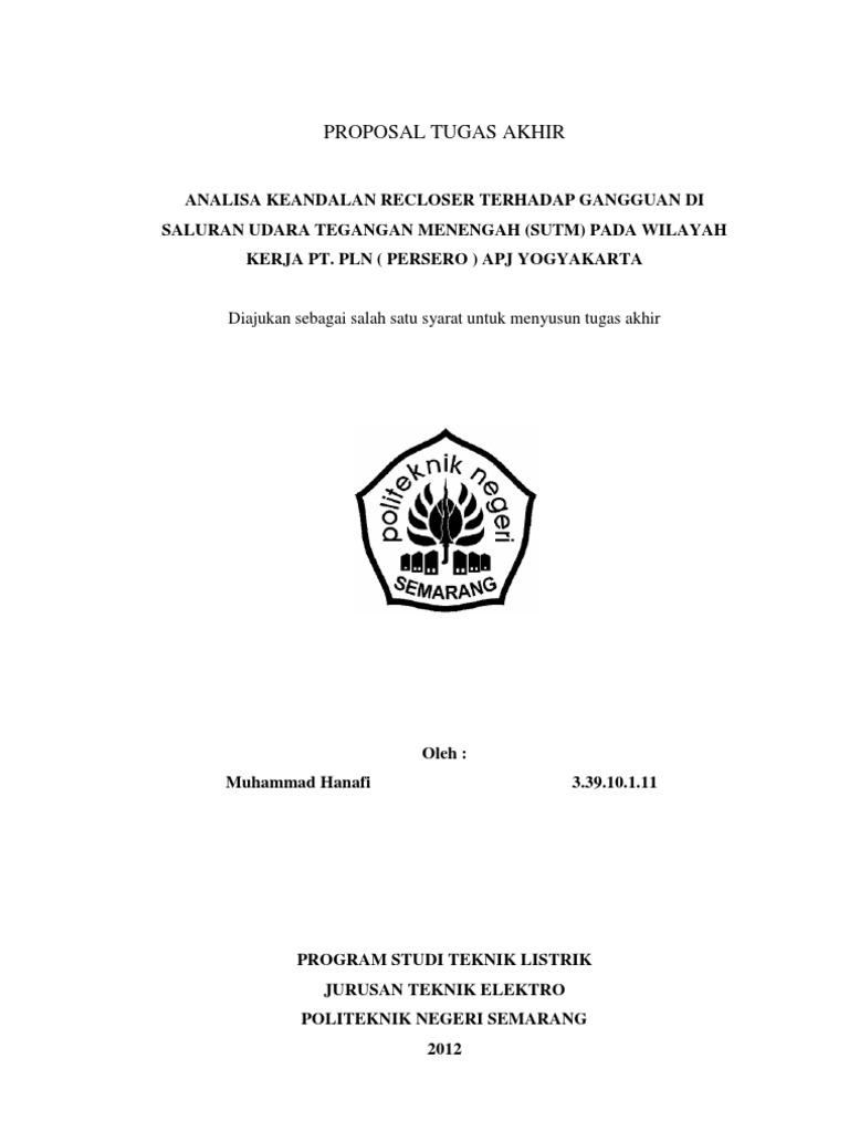 Proposal Tugas Akhir Hanafi