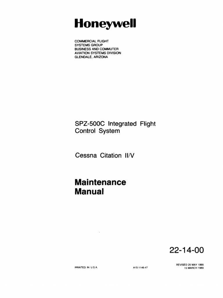 Cessna Citation II y V | Avionics | Aircraft