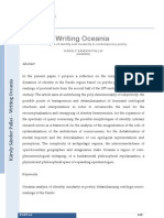 K. S. Pallai - Writing Oceania