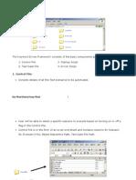 QTP Keyword Driven Frame Work Edited