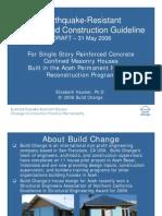 Earthquake-Resistant Design and Construction Guideline - Elizabeth Hausler