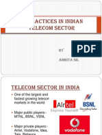 Hr Practices in Indian telecom industry