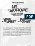 SPI War in Europe Rules