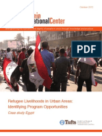 Refugee Livelihoods in Urban Areas