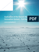 Finland Innovation FULL Report 28 Oct 2009