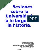 Reflexiones sobre la Universidad.doc