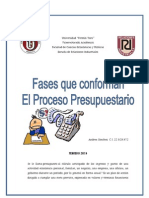 Fases Del Proceso Presupuestario PDF