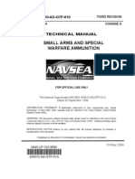 NAVSEA SW010-AD-GTP-010 TM Small Arms Special Warfare Ammunition