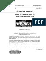 NAVSEA SW010-AD-GTP-010 TM Small Arms Special Warfare Ammunition