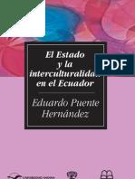 SM65-Puente-El Estado y La Interculturalidad en El Ecuador