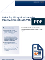 list of top 10 logistics companires