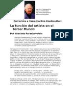 Artista en El Mundo Actual Koellreutter