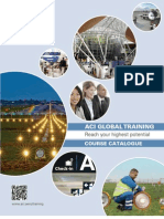 ACI 2013 Global Training Course Catalogue