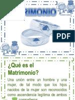 Capítulo 11. Matrimonio