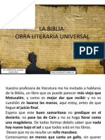 Biblia Obra Literaria Universal Pablo Rodriguez Cabanillas