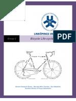 Bicycle Lifecycle Study