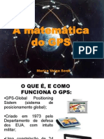 A matemática do gps