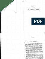 De La Theorie a La Methode - Charles