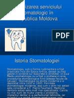 Organizarea serviciului stomatologic în Republica Moldova